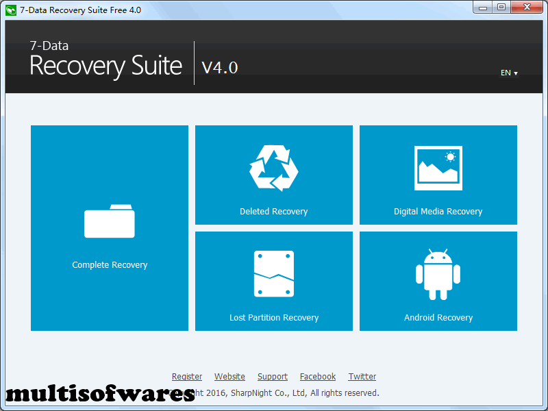7-Data Recovery Suite 4.3 Crack + Registration Code Free Download
