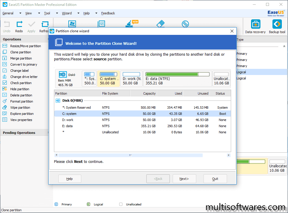 EaseUS Partition Master 14 Crack + License Code Full Download