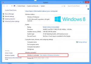 Windows 8 Activator 32/64 bit 100% Working Download