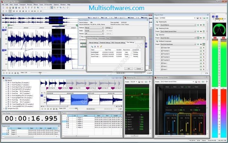 Sound Forge Pro 13 Crack + Serial Number Free Download 2020