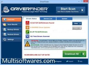 Driver Finder Pro 3.7.1 Crack Keygen Full Version Free Download