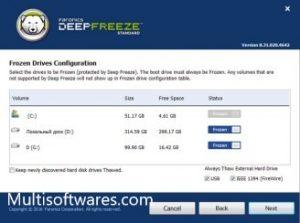 Deep Freeze 8.39 Crack + Serial Keygen Download