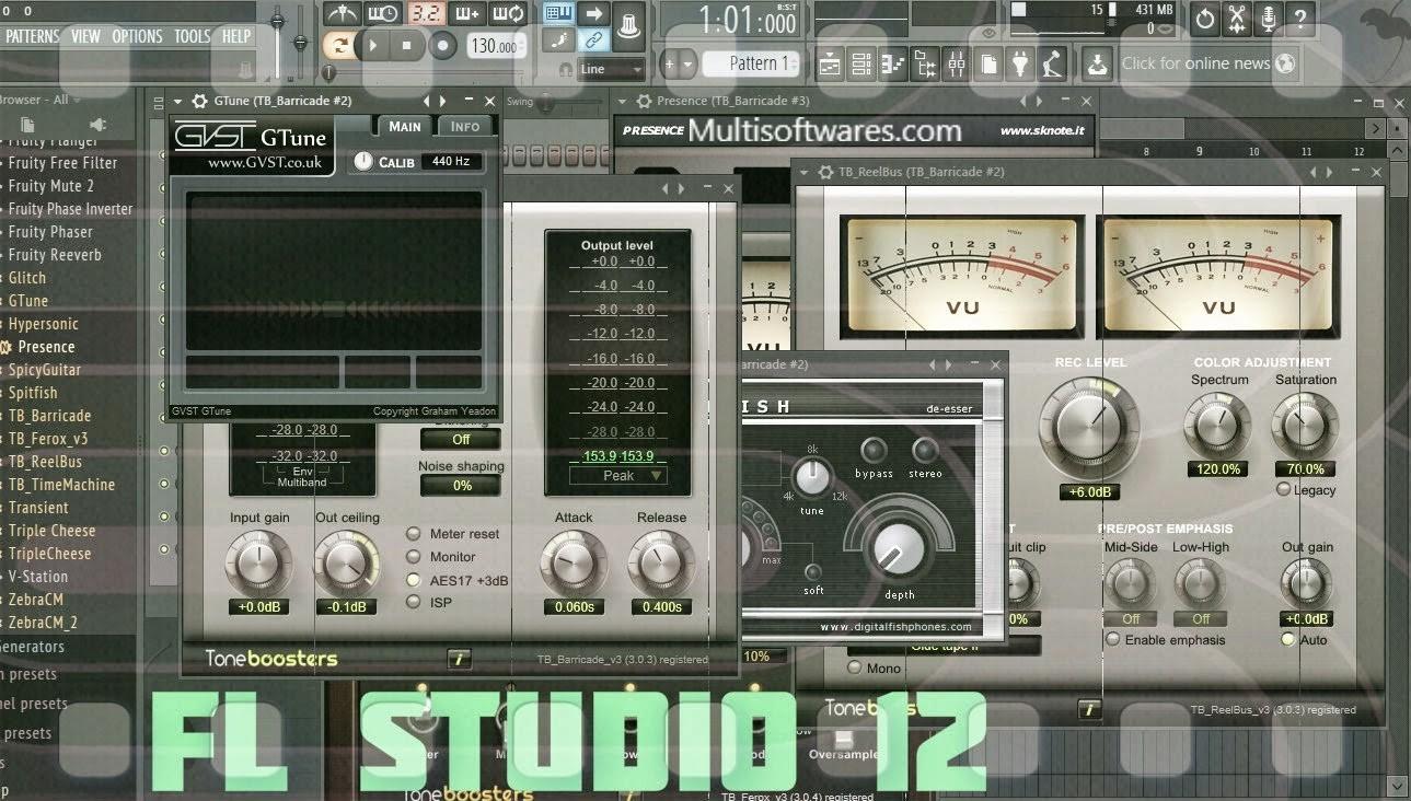 FL Studio 12.5.1.165 Crack + Registration Key Download