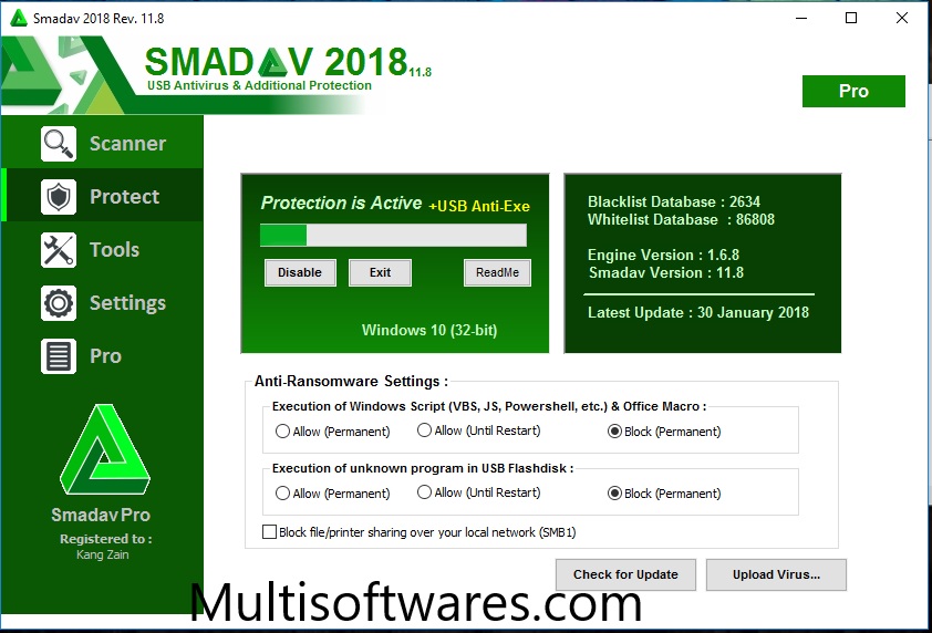 Smadav Antivirus Pro 2018 Crack + Serial Key Download