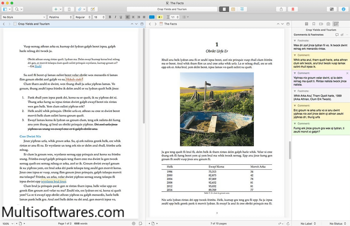 Scrivener 1.9.16.0 Crack + Keygen With Serial Key Download