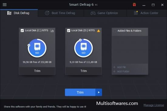 IObit Smart Defrag v6 RC Crack + Free Download Is Here
