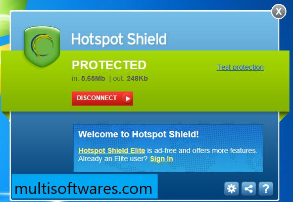 Hotspot Shield Elite 10.2.3 / 2.5.2.0 Crack + Patch Full Version [Latest]