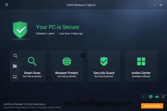 IObit Malware Fighter 8.0.2.595 Crack + License Key 2020 Download
