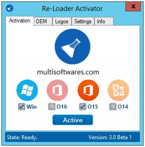 Re-Loader Activator v3 + Windows & Office Activation [Latest]