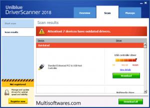 Uniblue DriverScanner 2018 Crack + Serial Keys Free Download