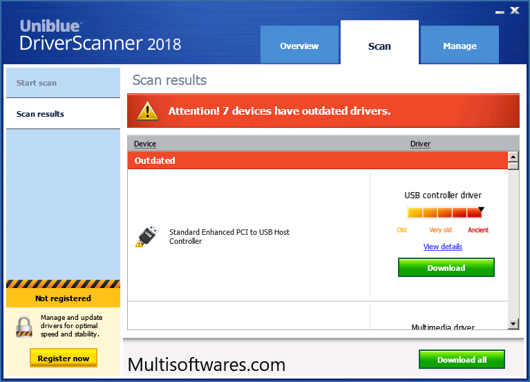 Uniblue DriverScanner 2019 Crack + Serial Keys Free Download