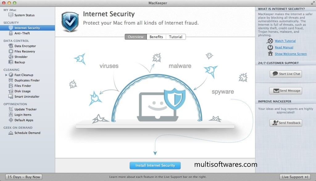 Mackeeper 3.30 Crack + Activation Code Free Download [Latest]