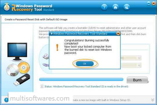 Windows Password Recovery Tool Pro