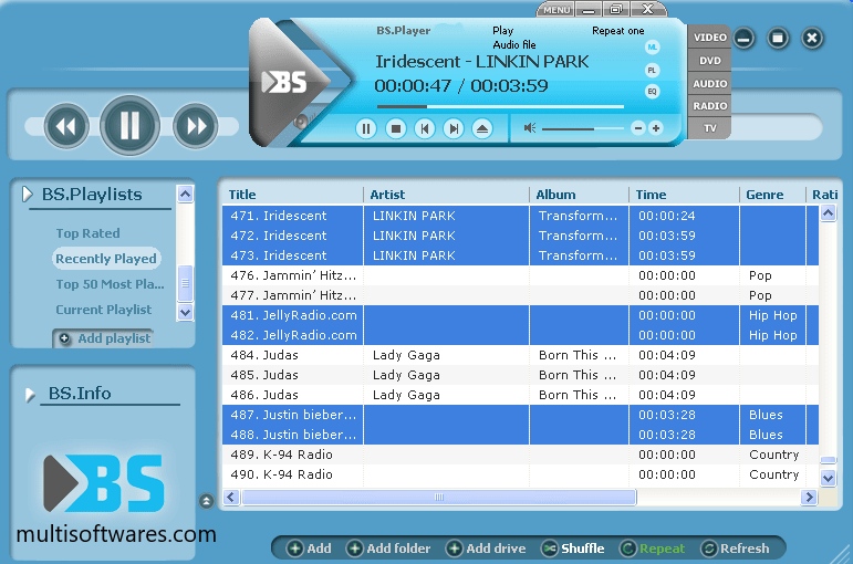 BS Player Pro 2.75 Crack Latest Version Free Download 2020