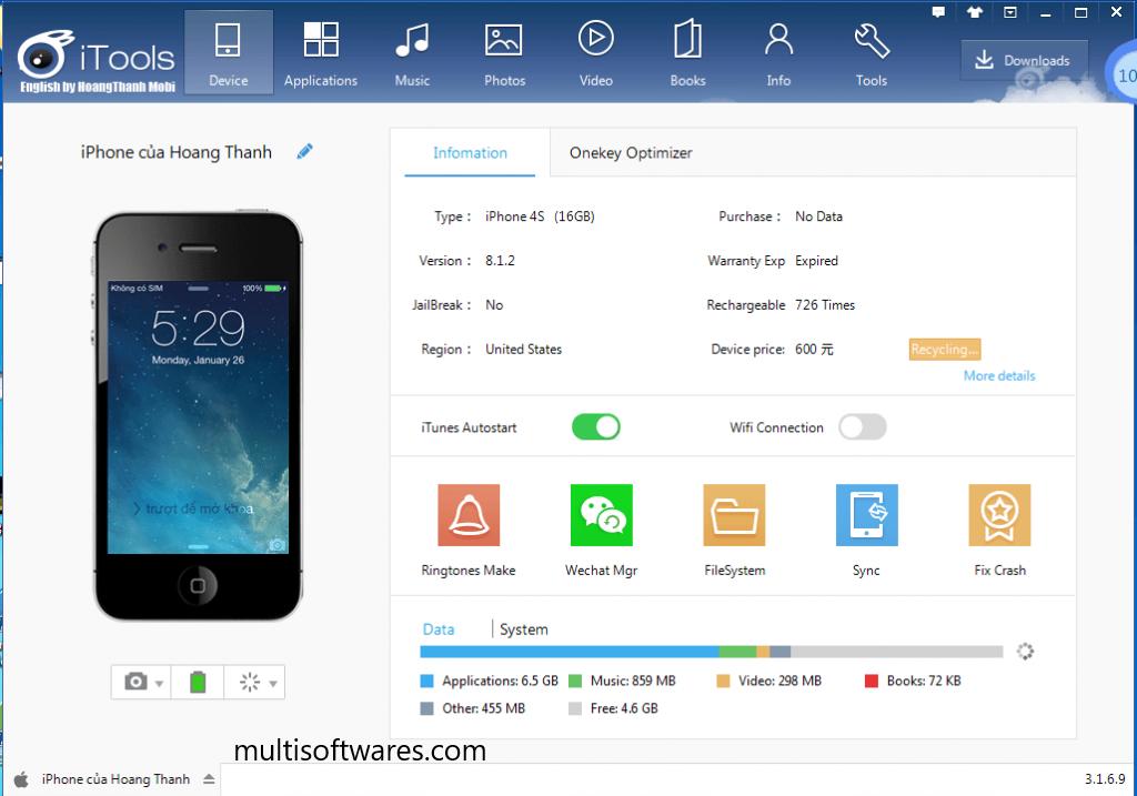 iTools 4.4.5.8 Crack + Keygen Full Version Free Download [2020]