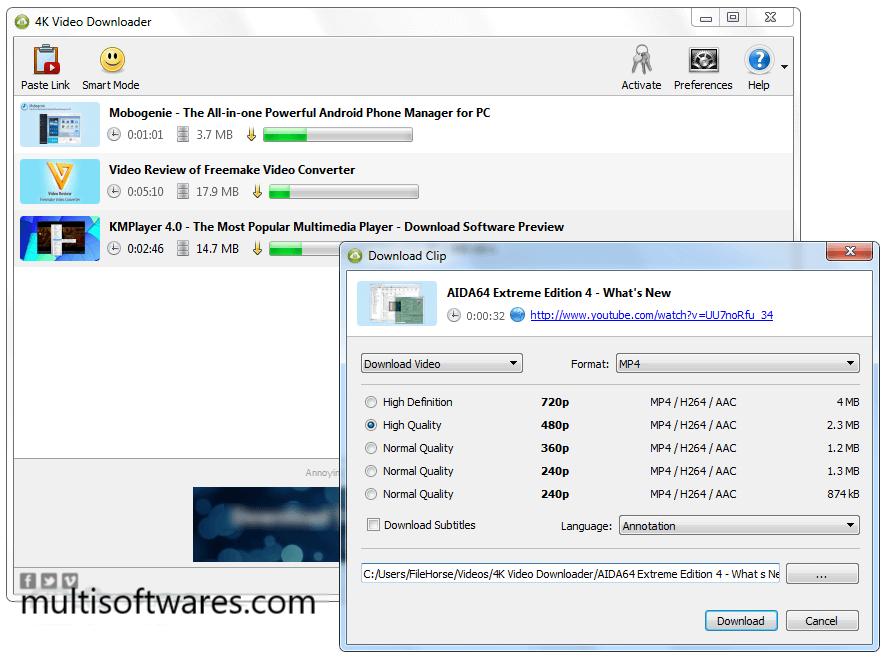4k Video Downloader 4.4 Crack + License Key Free Download [Latest]