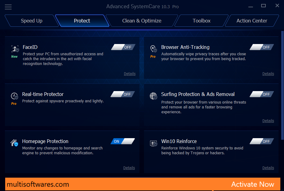 Advanced SystemCare Pro 13.5.0.270 Crack + License Key 2020 Download