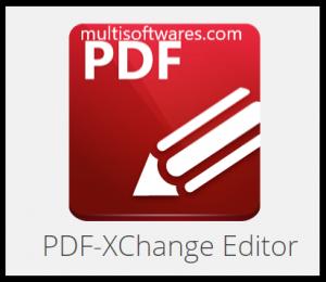 PDF-XChange Editor Crack + Serial Key Free Download