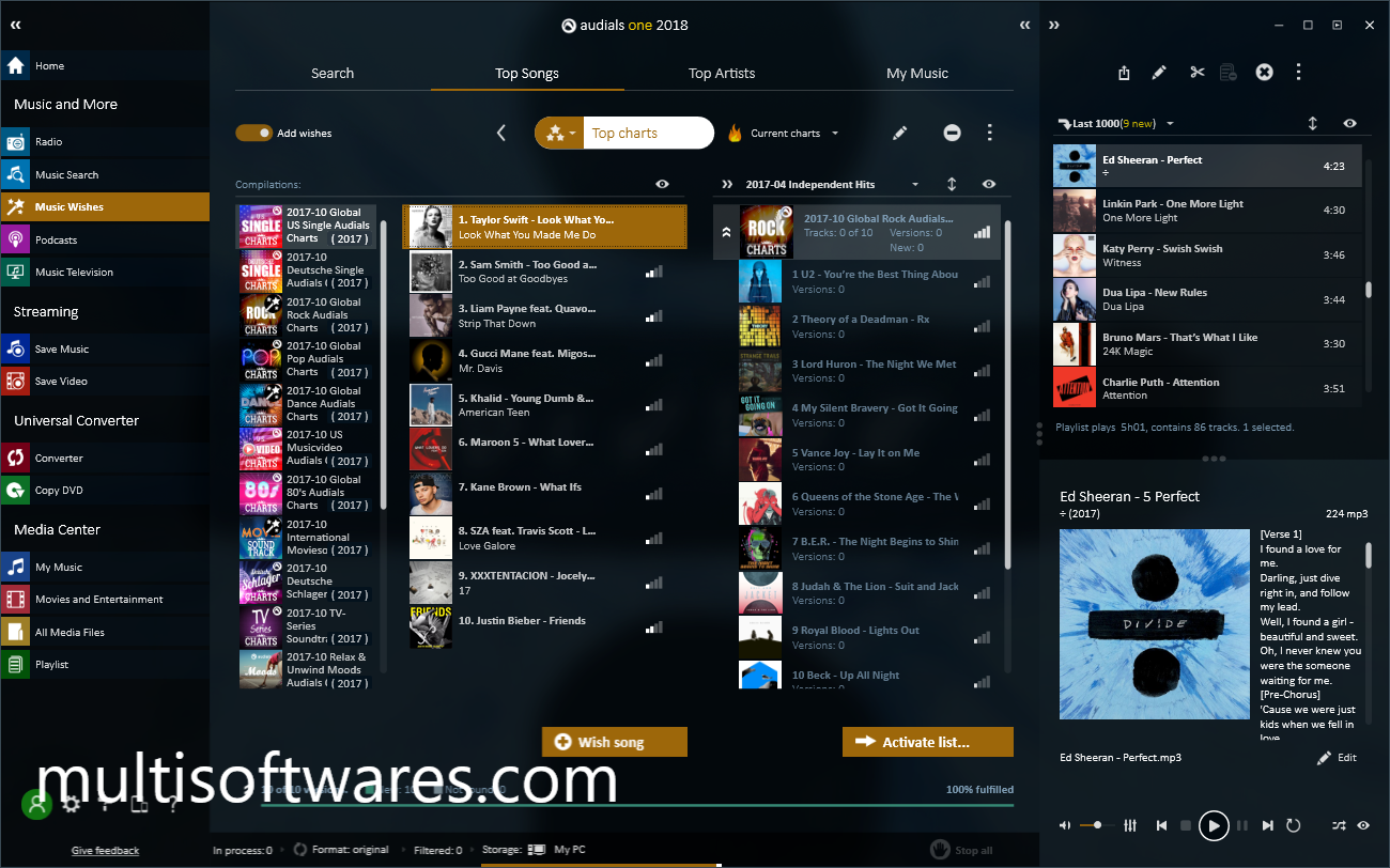 Audials One Platinum 2020.2.41.0 Crack With Key Free Download