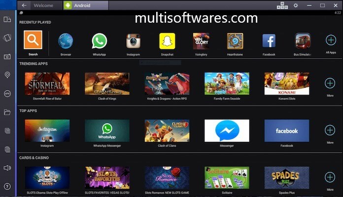 BlueStacks 4.215.0.5101 Crack + PC Android Download 2020