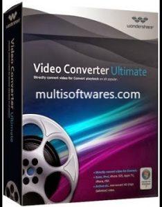 Wondershare Video Converter Ultimate 10.3.0 Crack + Keygen Free Download