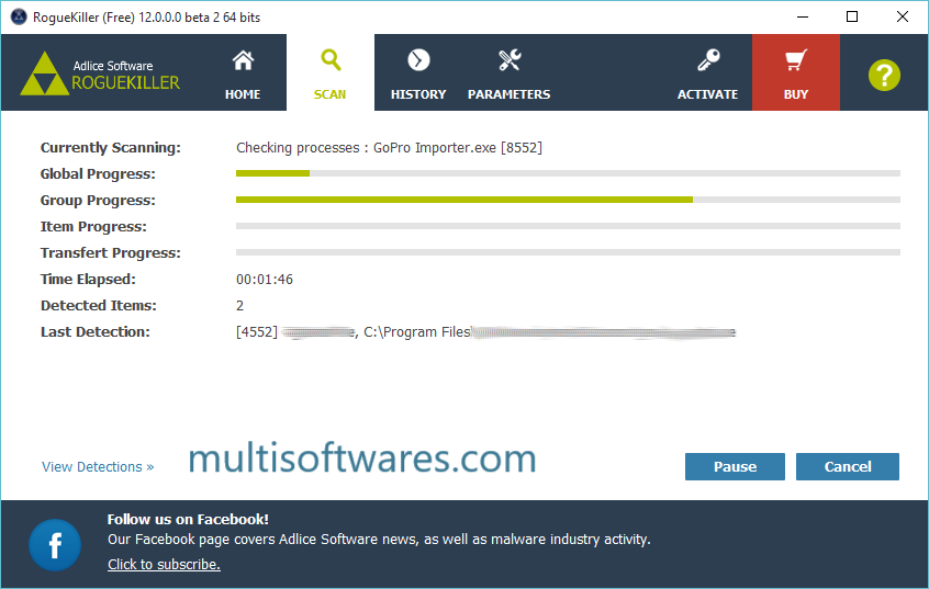 RogueKiller 12.12.28.0 Crack + Serial Key Download
