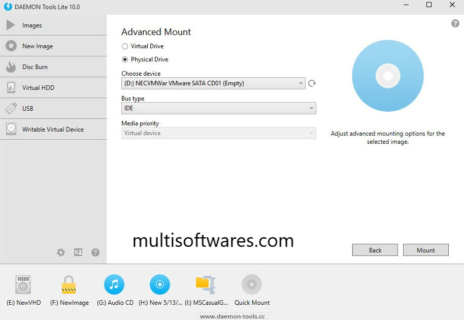 DAEMON Tools Lite 10.13.0.1371 Crack + Key Full Download [Latest] 2020