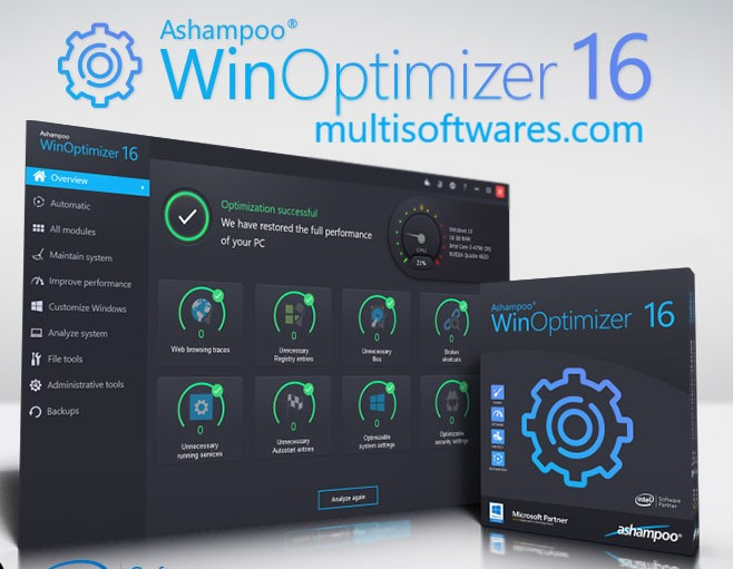 Ashampoo Winoptimizer 18.00.16 Crack + Keygen Download [2020]