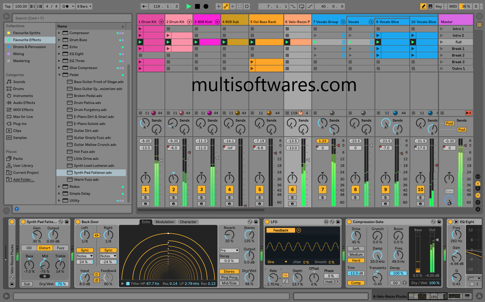 Ableton Live 10.1.6 Crack + Code Full Torrent 2020 Download