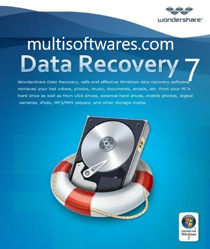Wondershare Data Recovery 7 Crack + Keygen Free Download