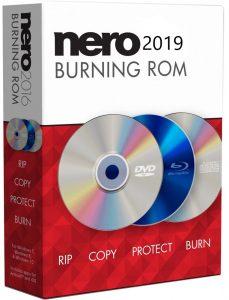 Nero Burning ROM 2019 Crack + Serial Key Full Download